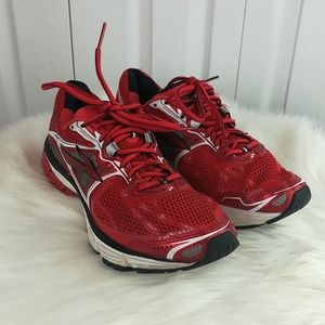Brooks Ravenna red running shoes